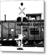 Train Tryptic C Of C Metal Print