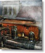 Train - Yard - The Train Yard II Metal Print