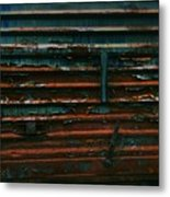 Trains 13 Vign Metal Print