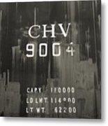 Trains 14 Platinum Metal Print