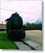 Trains 3 7 Metal Print