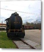 Trains 3 Org Metal Print