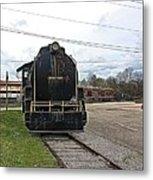 Trains 3 Paint Org Metal Print
