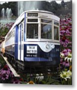 Trains Brookfield Zoo Trolley Car 141 Metal Print