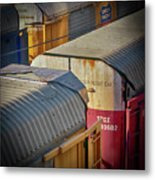 Trains - Nashville Metal Print