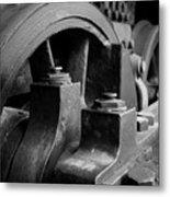 Trainwheels Metal Print