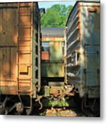 Trainyard 5 Metal Print