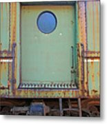 Trainyard 9 Metal Print