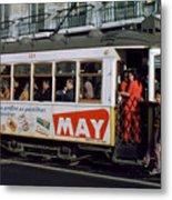 Tram 223, Graca, Lisbon, 1972 Metal Print