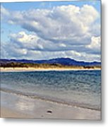 Tramore Beach Donegal Metal Print