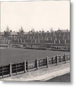 Tranmere Rovers - Prenton Park - Bebington Kop End 1 - Bw - 1967 Metal Print