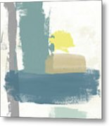 Tranquil Abstract 3- Art By Linda Woods Metal Print