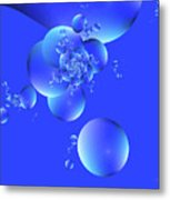 Tranquil Effervescence  Metal Print