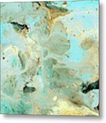 Tranquil Escape- Abstract Art By Linda Woods Metal Print