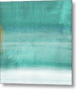 Tranquil Horizon- Art By Linda Woods Metal Print
