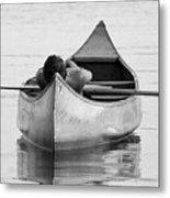Tranquil On Chautaqua Lake Metal Print