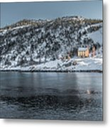 Tranquil  Kings Cove Nl Metal Print