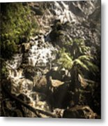 Tranquil Mountain Canyon Metal Print