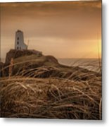 Tranquil Sunset At Llanddwyn Island - Anglesey, North Wales Metal Print