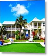 Tranquility Bay West View Metal Print