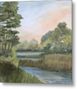Tranquility Metal Print by Shirley Lawing