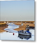 Tranquility - Wells Next The Sea Norfolk Metal Print