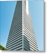 Transamerica Pyramid In San Francisco, California Metal Print