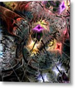 Transcendence In Retrograde Metal Print