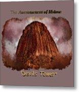 Transcendent Devils Tower 2 Metal Print