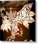 Transcending Angel Metal Print