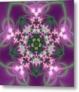 Transition Flower 5 Beats Metal Print