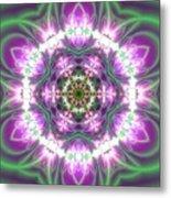 Transition Flower 6 Beats 3 Metal Print