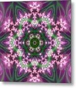 Transition Flower 6 Beats 4 Metal Print