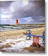 Transition Of Seasons Metal Print