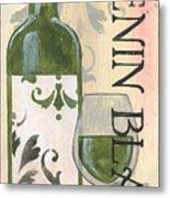Transitional Wine Chenin Blanc Metal Print