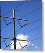 Transmission Lines Metal Print