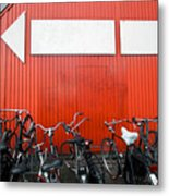 Transportation And Direction Metal Print