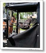 Transportation Metal Print
