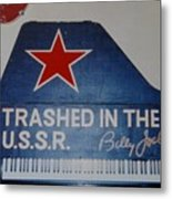 Trashed In The U S S R Metal Print