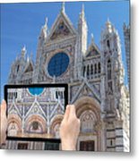 Travel To Siena Concept Metal Print