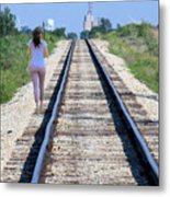 Travel With A Purpose  Metal Print