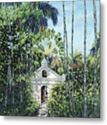 Travelers Path Metal Print by Danielle  Perry