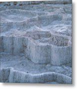 Mammoth Hot Springs Travertine Terraces Two Metal Print
