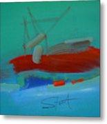 Trawler Metal Print