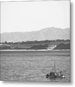 Trawling Monterey Metal Print