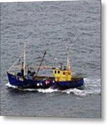 Trawling Off The Dingle Peninsula In Ireland Metal Print