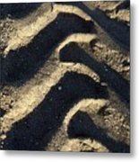 Tread Mark  Metal Print
