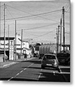 Trearddur Bay Village North Wales Uk Metal Print