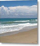 Treasure Coast Beach Florida Seascape C4 Metal Print