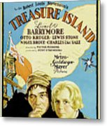 Treasure Island 1934 Metal Print